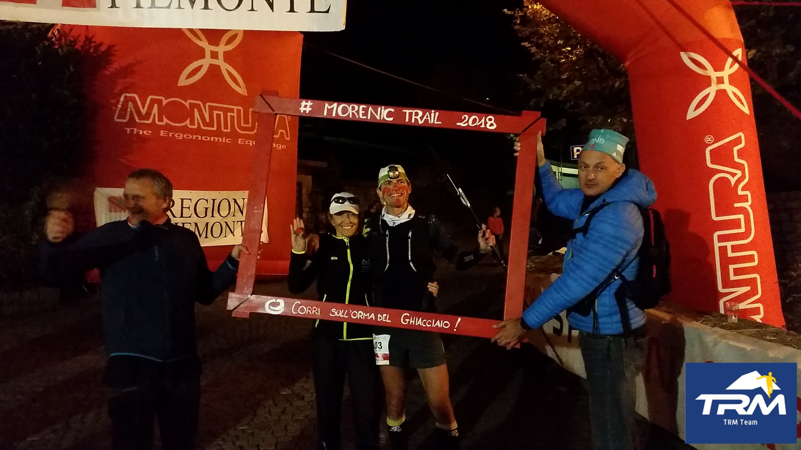 TRM TEAM ON THE PODIUM AT THE MORENIC ULTRA TRAIL