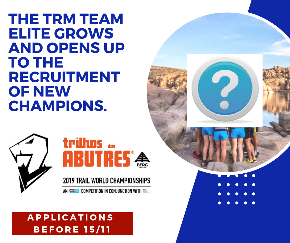 TRAIL WORLD CHAMPIONSHIPS – TRM INVESTS ON ELITE ATHLETES