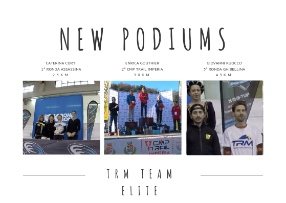 NEW PODIUMS DURING THE WEEKEND AND GREAT SATISFACTION FOR THE TRM TEAM ELITE