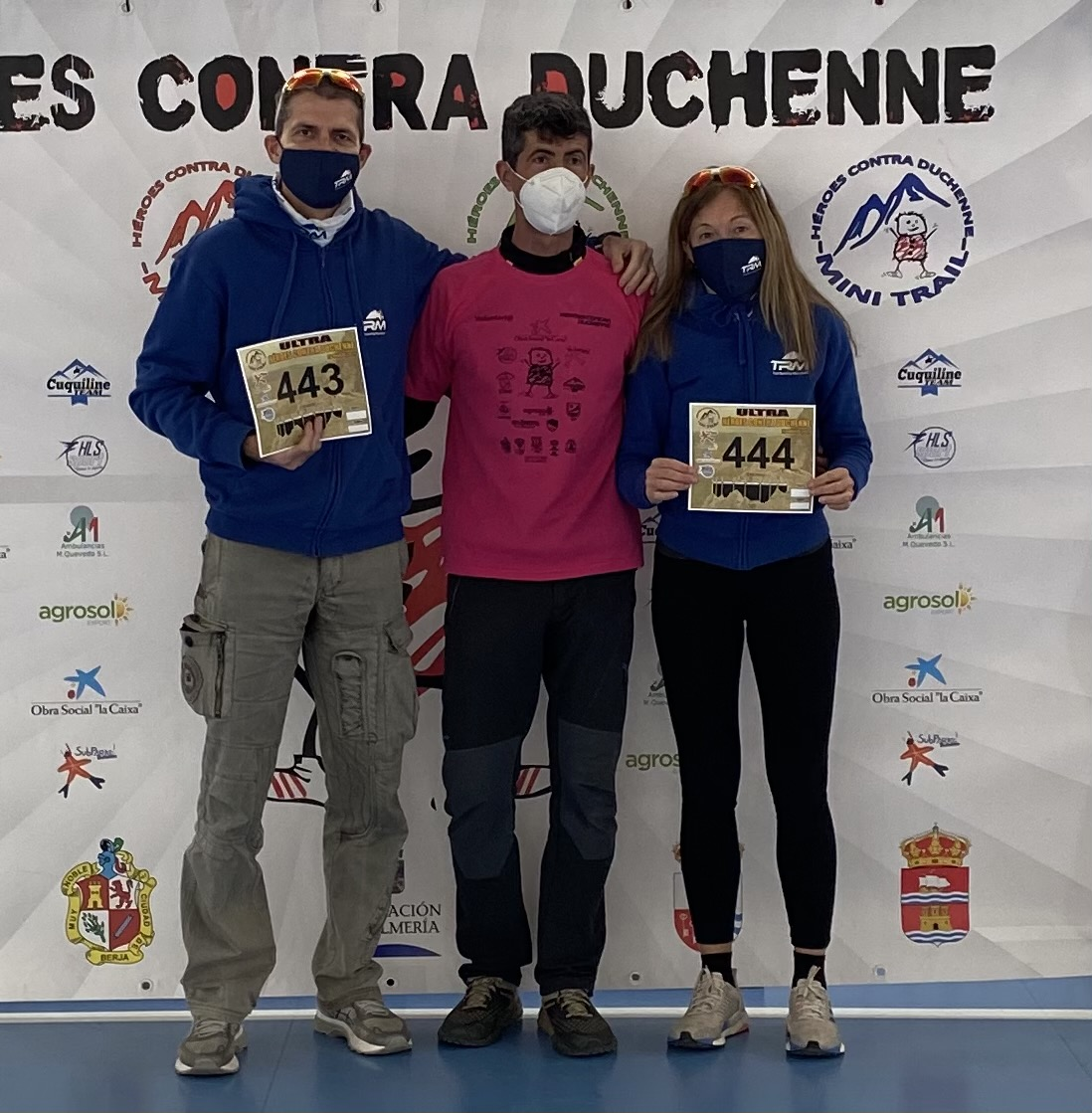 I COLORI DEL TRM TEAM ALL'ULTRA HEROES CONTRA DUCHENNE